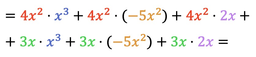 adding and multiplying polynomials