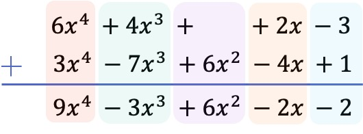 how to add two polynomials