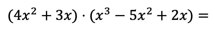 multiplication of polynomials examples