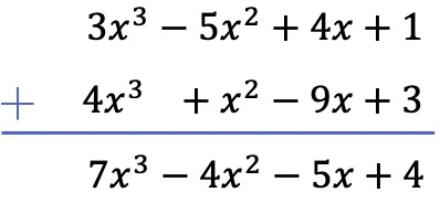 practice problems addition of polynomials